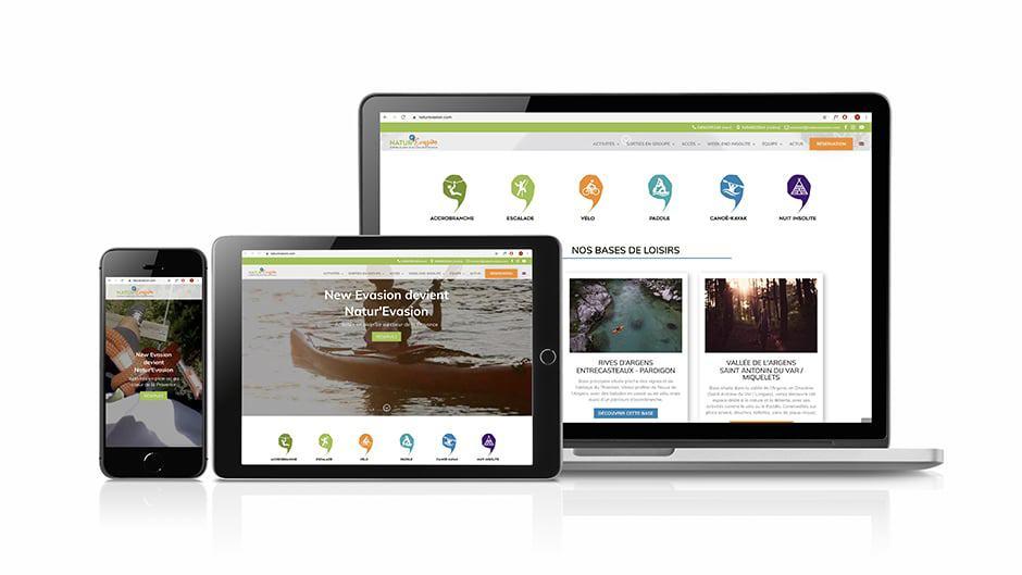 conception site web responsive
